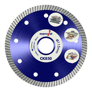 Image Is Loading Marcrist Ck850 Diamond Tile Saw Cutter Blade Disc
