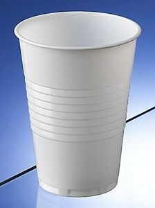 1000 Plastic cups for water dispenser / cooler - 200ml