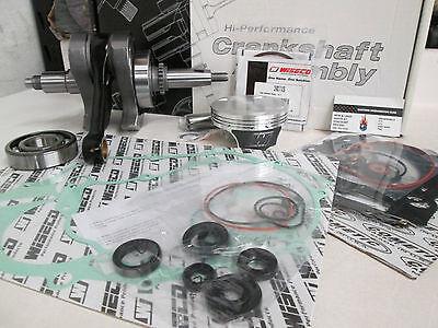 Wiseco HC Piston Top End Rebuild Kit Gaskets Raptor 660 01-05  STD//100mm//11:1