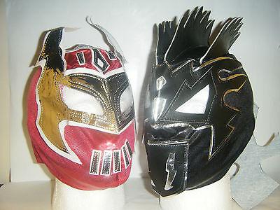 KALISTO /& SIN CARA KID CHILDRENS HEAD WRESTLING MASK WWE FANCY DRESS UP COSPLAY
