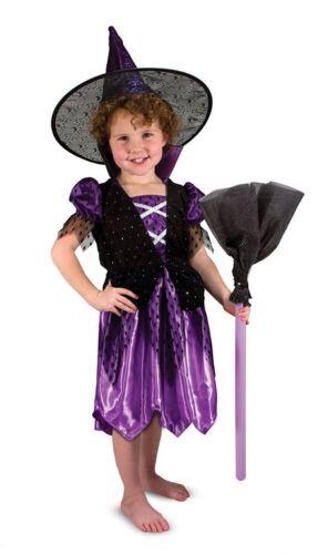 Melissa /& Doug Costume de sorcière Dress-Up Halloween Enfants Filles rôle ensemble cadeau 18505