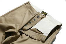 Repro W32 USAF Officer Chino Pant Vintage Original HBT M44 Pacific ww2 A2 Jacket