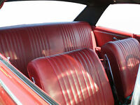1964 Chevelle Convertible Deluxe Bucket Seat Interior Kit Black