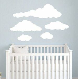 Image Is Loading Cloud Wall Decals Baby Room Nursery Wall Vinyl