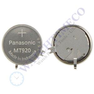 Panasonic Mt920 Battery Capacitor Seiko Solar V198 Ebay