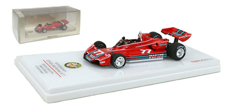 TrueScale BRABHAM bt45a  77  Martini  GERMAN GP 1976-R Stommelen 1/43 SCALA