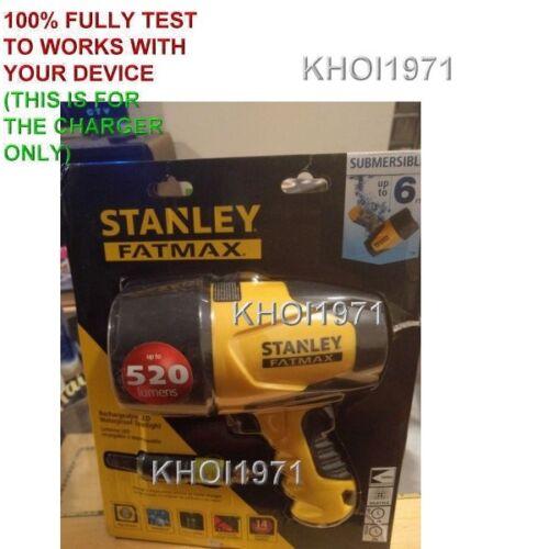 Chargeur de voiture Adaptateur d/'alimentation pour FL5W10 Stanley FatMax étanche Projecteur DEL