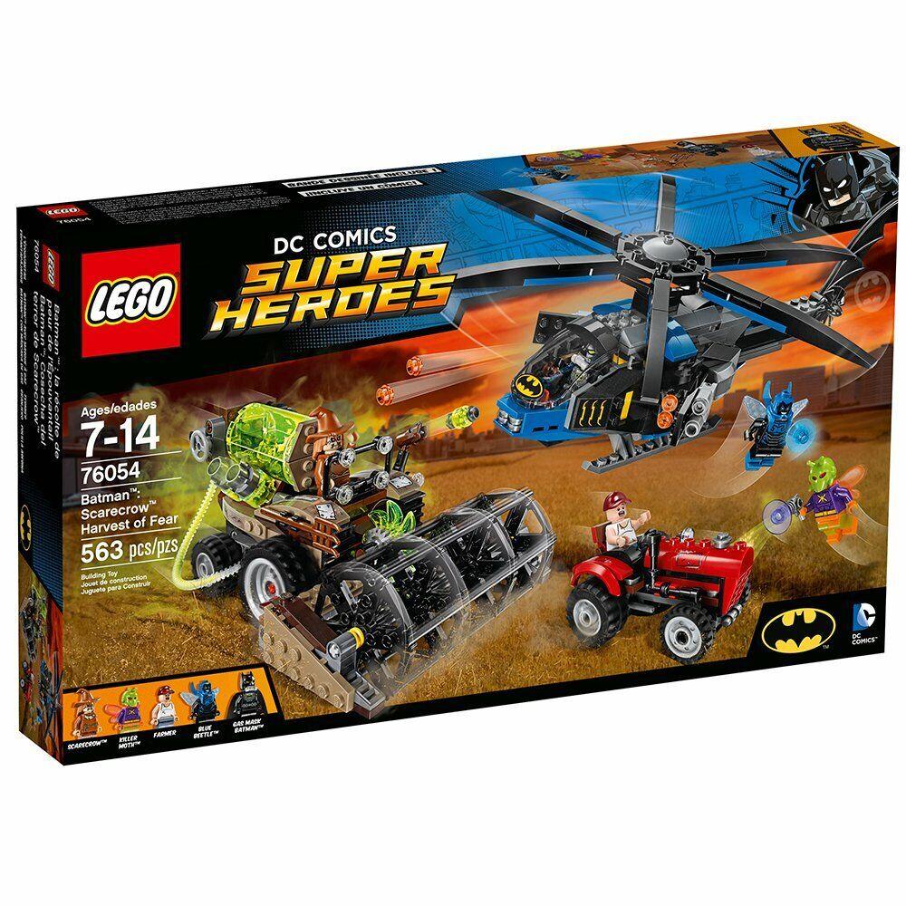 LEGO DC serier Superhjältar  läderlappen  Sbilecrow Harvest of Fear (76054) NIB 2016