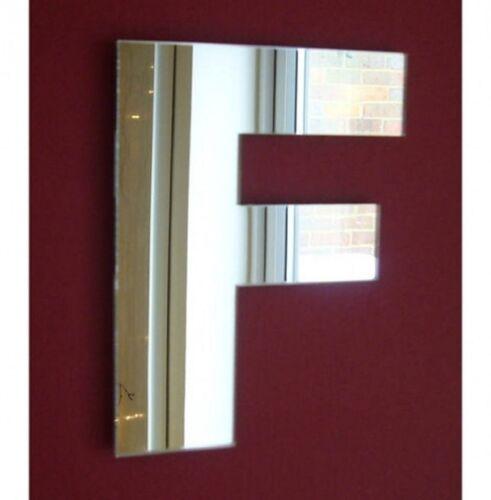 Contemporary Letter Mirror 20 cm