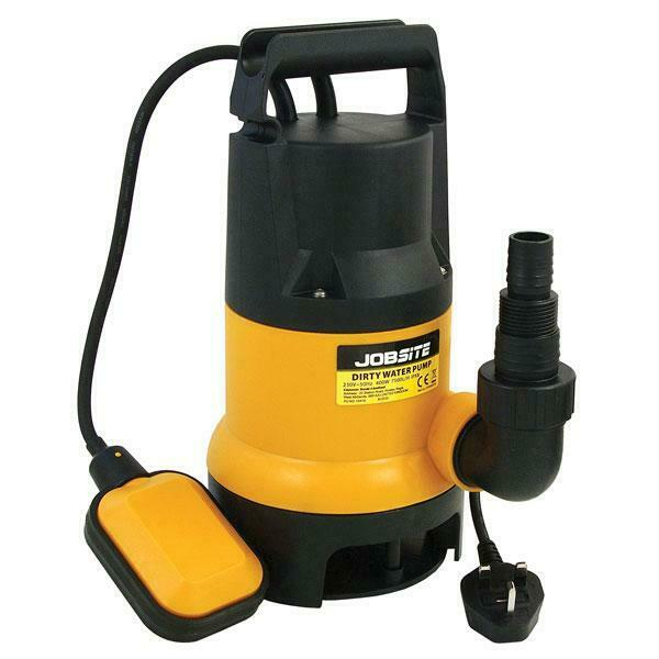 Heavy Duty Submersible Dirty Water Garden Pump 240V 400W DIY PUMP 10 Metre Cable