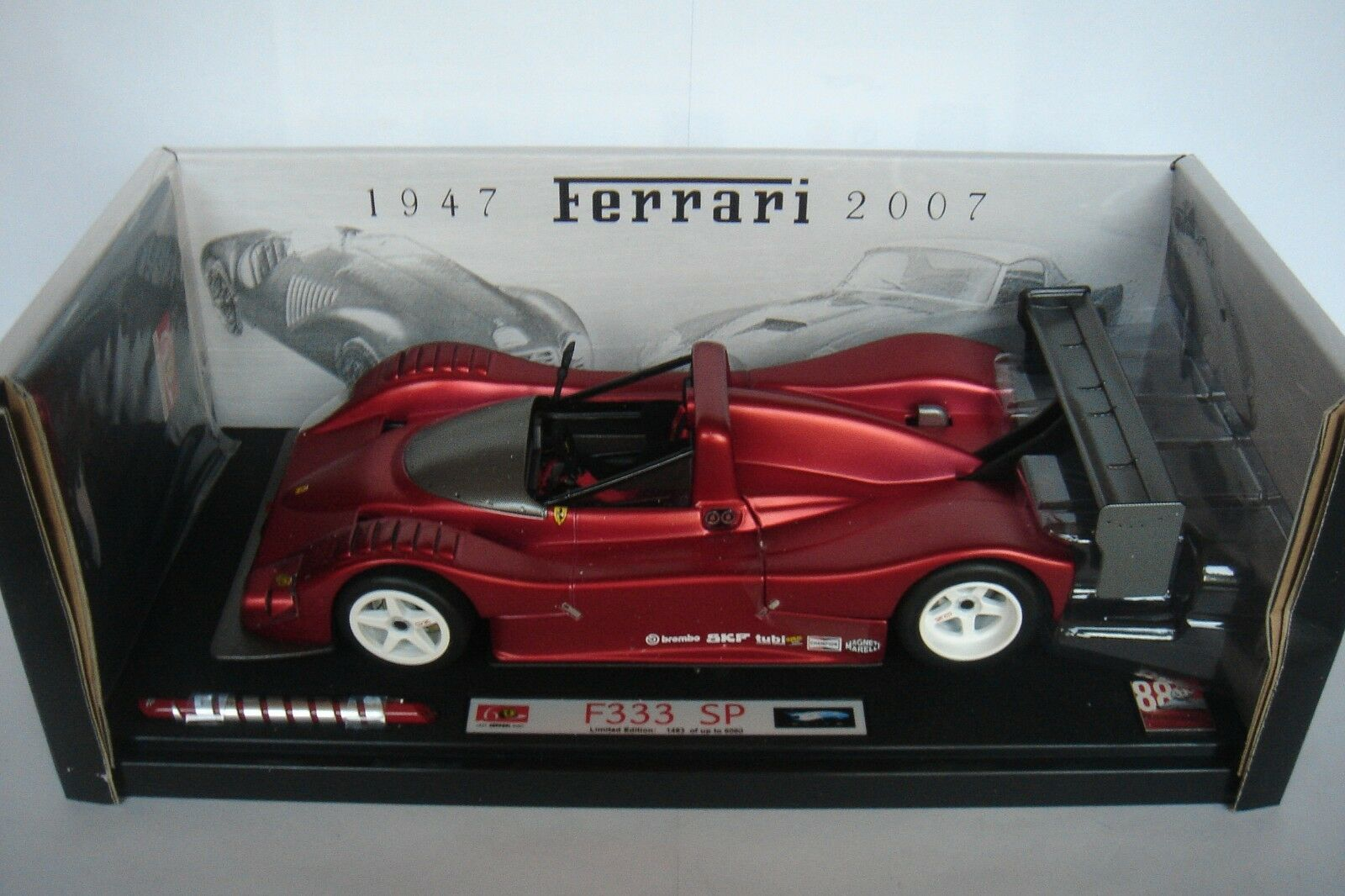 Hot Wheels 1 18 Ferrari 333SP 60th Anniversary Elite L2975