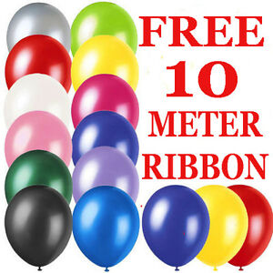 BALLOONS LARGE Helium High Quality Party Birthday Wedding Balloons 10 X