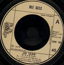 "THE BEE GEES jive talkin'/wind of change 2090 160 uk rso 1975 7"" WS EX/"