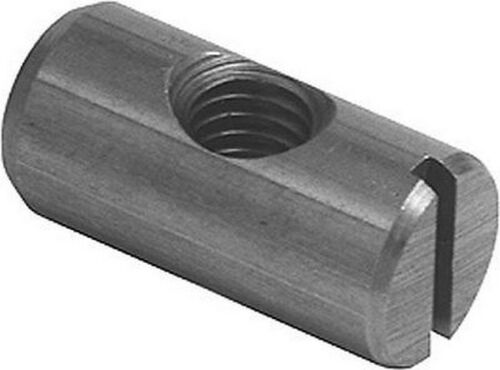 beds cots 10 x  Barrel Bolt Nuts M6 x  20mm Slotted Cross Dowel  furniture