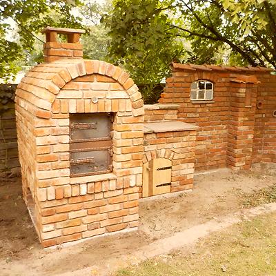 1 St. Ziegelstein Natursteinmauer Backsteine Outdoorküche Sichtschutz Pizzaofen HöChste Bequemlichkeit