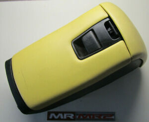 Toyota-MR2-MK2-Yellow-Leather-Covered-Black-CD-Glove-Middle-Storage-Box