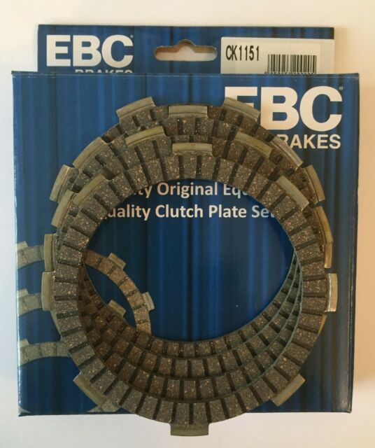 EBC Heavy Duty Clutch Plate Kit Fits Yamaha YBR125 CUSTOM (2008 to 2016)