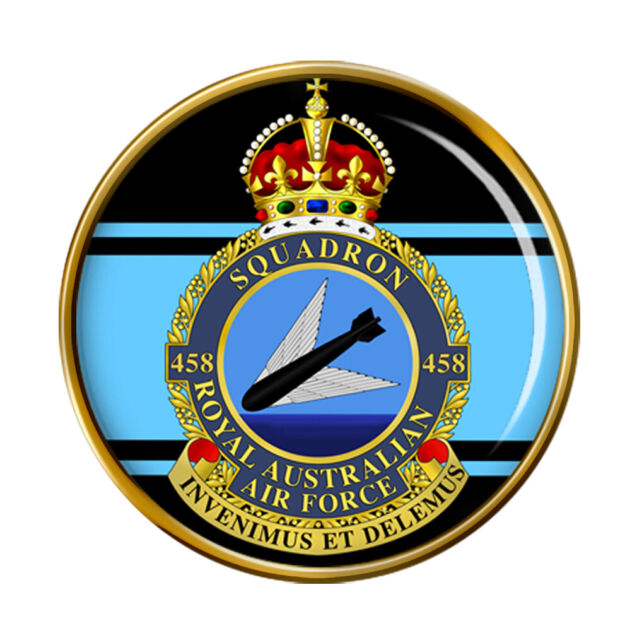 459 Squadron Royal Australian Air Force RAAF Lapel Pin Badge Gift