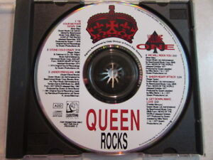 QUEEN-ROCKS-VOLUME-ONE-1991-8-TRK-PROMO-CD-HOLLYWOOD-RECORDS-PRCD-8263-2-OOP