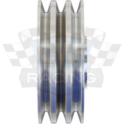 Billet Aluminum Crankshaft Pulley V-Belt SWP 396 427 454 Crank BBC 3 AC Vintage