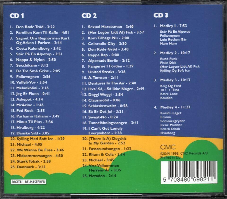 Shu-bi-dua: Shu-bi-læum 73-98 (3CD Boks), rock