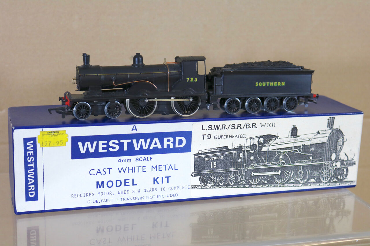 WESTWARD WK11 KIT BUILT SOUTHERN SR Ex LSWR BR 4-4-0 CLASS T9 LOCO 723 BOXED ng