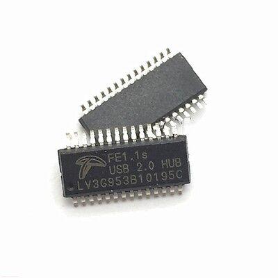 10PCS USB 2.0 Hub controller 1 USB to 4 USB IC FE1.1S Multiple USB converter NEW