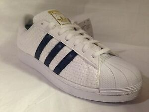 11 5 Ba8493 Uk 10 5 Uomo Superstar blu 8 Taglie 6 Bianco Adidas 5 oro 9 Weave qYZfa
