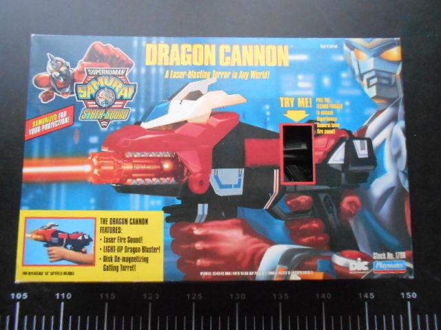 Playmates superhuman Samurai Syber Squad DRAGON DRAGON DRAGON CANNON SENTAI TOKUSATSU BLASTER aae197
