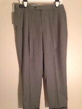NWT MEN DOCKERS INNOVATIONS PREMIUM DRESS PANTS PLEAT FRONT CREASED CUFFED W36