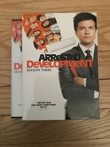 ARRESTED-DEVELOPMENT-BOX-SET-COMPLETE-THIRD-3-SEASON-USED-FREE-S-H-M5