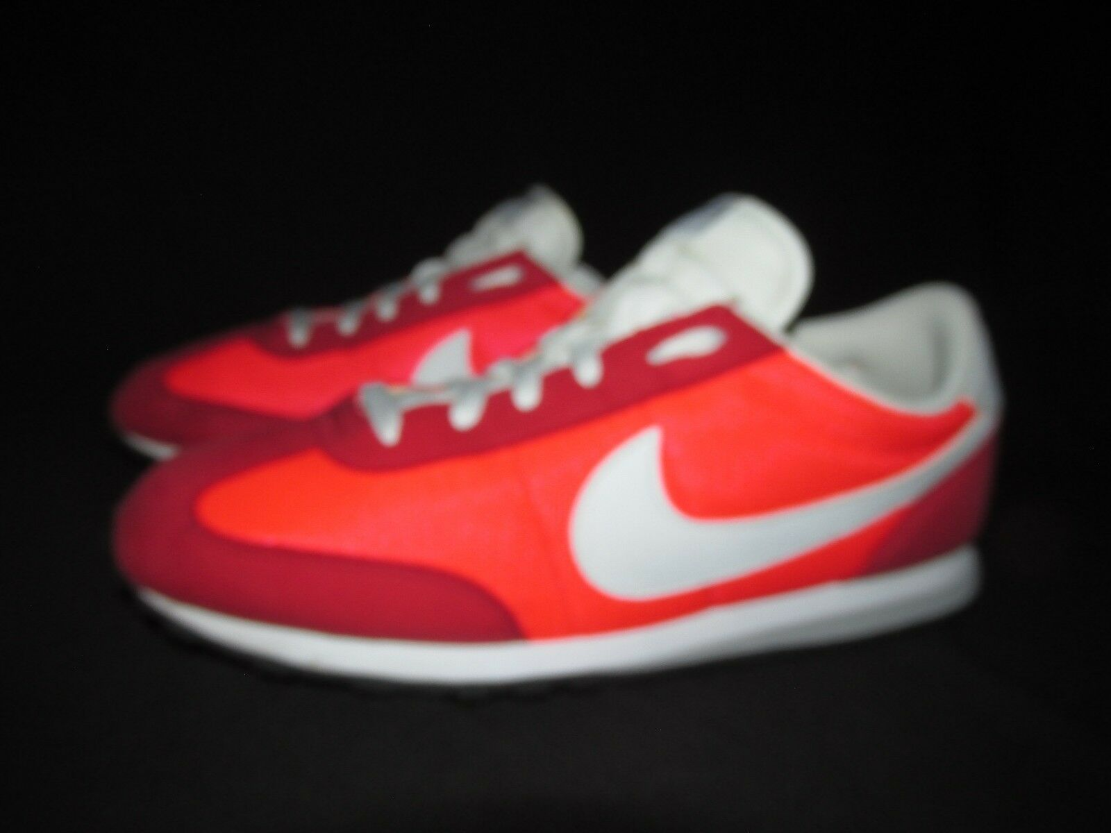 Special limited time Nike 303992 Mach Runner Red Orange White Low Trainer Shoes Men's US 9.5M EU43