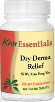 Kan Herbs - Essentials Dry Derma Relief For Pets 120 Tabs