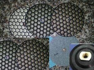 4 inch Diamond Polishing 22+1 Pad BEST QUALITY Terrazzo Granite Concrete marble