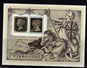 GB-1990-Penny-Black-Stamp-Exihibition-MS-SG-MS1501-MNH