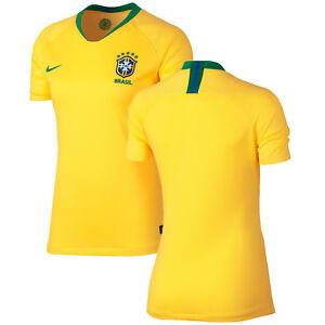 77f859483 Nike Brazil - Brasil WC World Cup 2018 Womens Soccer Home Jersey ...