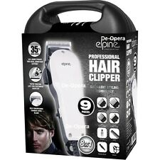 9PC PROFESSIONAL HAIR CLIPPER FOR MEN GROOMING KIT TRIMMER SHAVE 8 IN 1