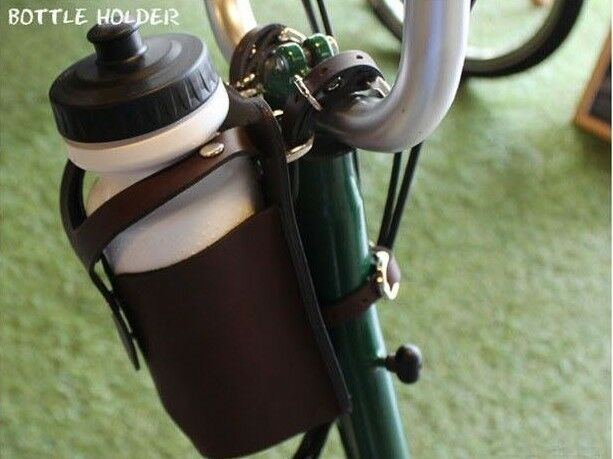 Ba sport Bicycle leather BOTTLE HOLDER Water Bottle Cage For Brompton