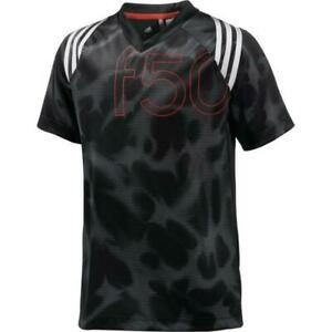 ADIDAS F50 TRAININGS-SHIRT KINDER JUNGEN T-SHIRT SPORT ...