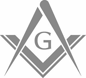 MASONS-SQUARE-DECAL-STICKER-SET-OF-2-SILVER