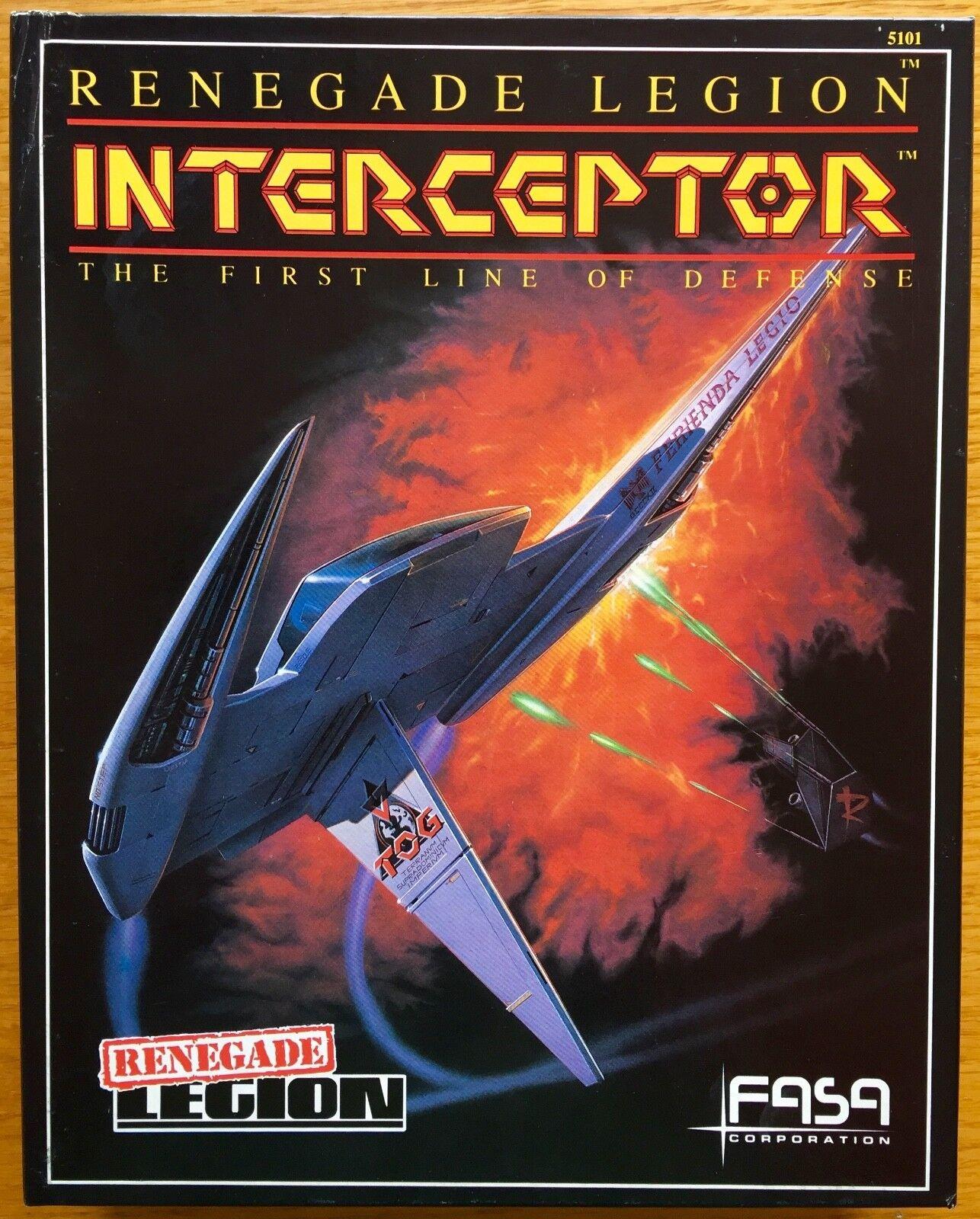 Renegade Legion  Interceptor - FASA 1987 – UNPUNCHED
