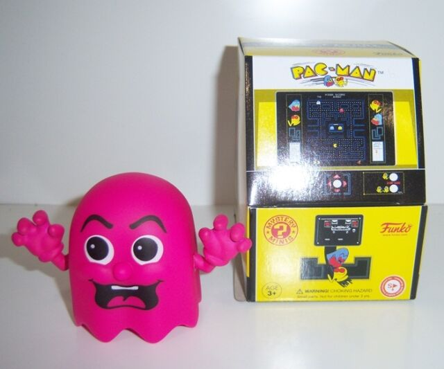 Funko Mystery Minis Retro Games Ms. Pac-Man GHOST (Pink) - New