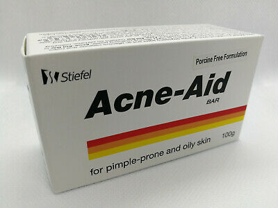 Stiefel Acne Aid Bar 100g Pimple Prone Oily Skin Acne Aid Soap Exp 12 2020 Ebay