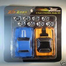 Zip Zaps Micro RC Body Kit 2 Fast 2 Furious 70 Dodge Challenger 69 Camaro Yenko