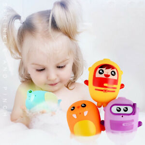 6Pcs-Small-Spray-Fun-Bath-Toys-Assorted-Characters-Bathtub-Baby-Shower-Toy-Gift