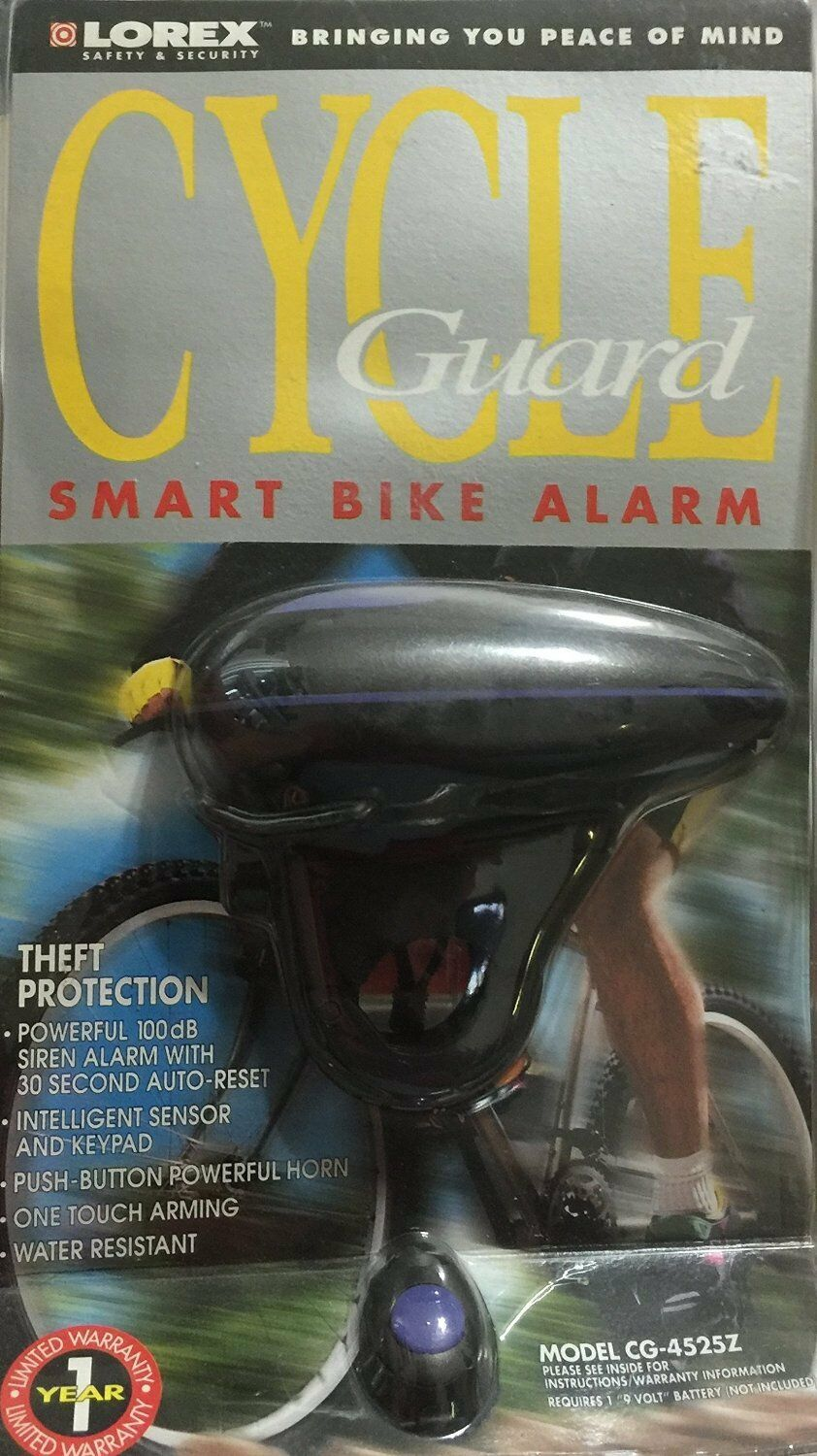 LOREX  Cycle Guard Smart Bike Alarm-Theft Predection  up to 70% off