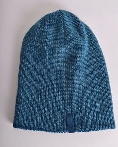 4d03bdee53f 2016 NWT RIDE CONTRAST REVERSIBLE BEANIE  25 O S steel blue acrylic ...