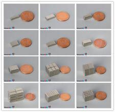 Multiple Sizes 12 127mm Length Rare Earth Neodymium Block Bar Magnets N45n52