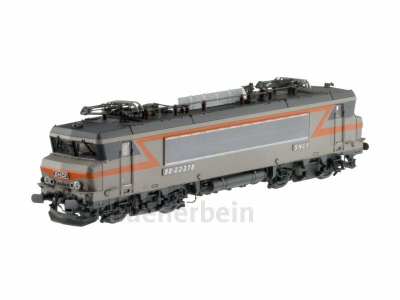LS modellllerlerler 10935 SNCF BB 22200 4achs E -Lok Alsthom grå  orange Ep4 AC gräva NEU OVP
