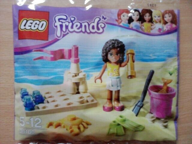 Lego Friends, 6 Nye og Uåbnede Promotionsæt.